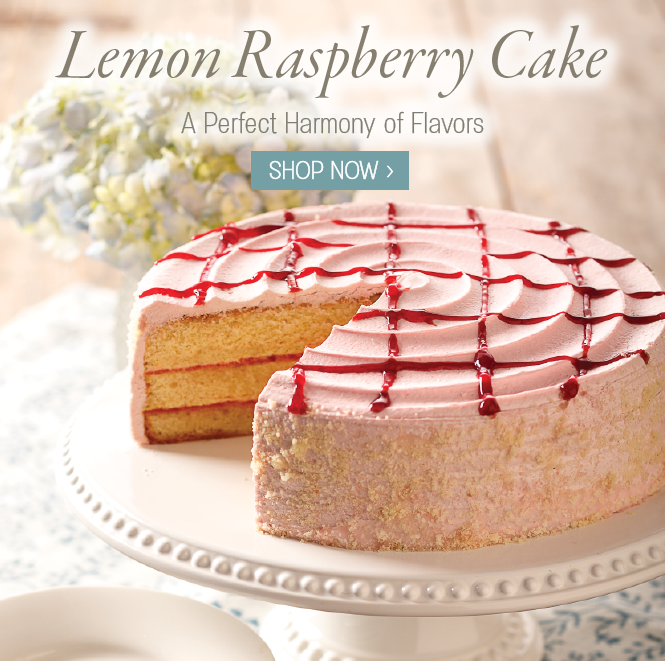 Lemon Raspberry Cake