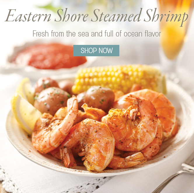 Eastern Shore Steamed Shrimp