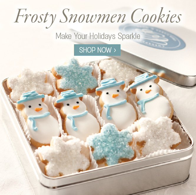 Frosty Snowmen Cookies