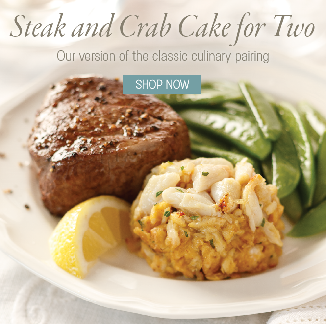 Steak & Crab Cake for Two